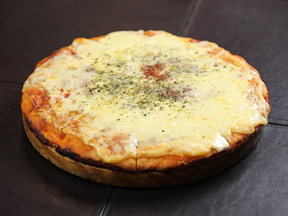 Promo - 2 pizzetas grandes con muzzarella (32 cm)