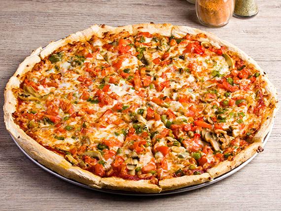 Promo - Pizza XL con 3 ingredientes + bebida 2.5 L + acompañamiento