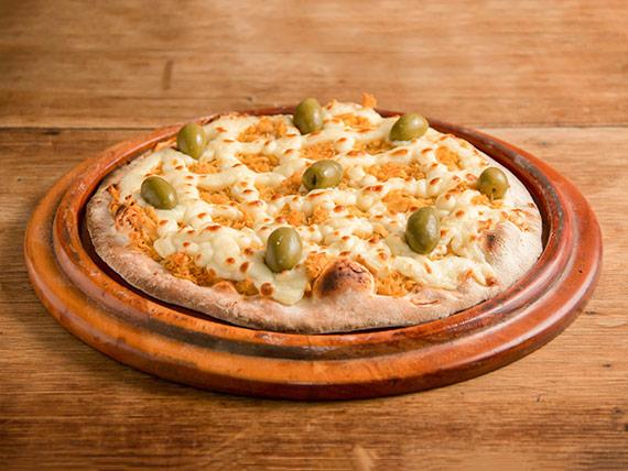 136 - Pizza frango com catupiry