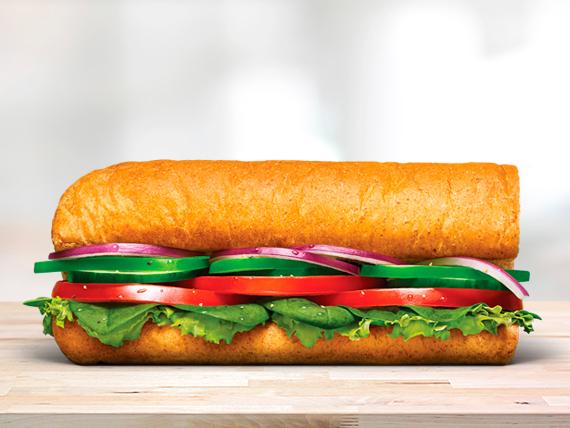 Sándwich vegetariano (15 cm)