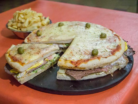 Lomo pizza especial (para 6 personas)