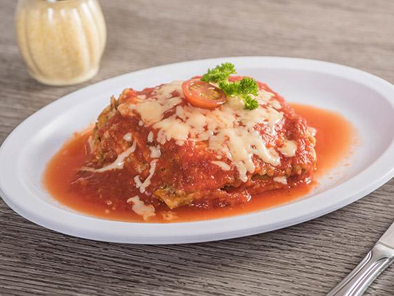 Lasagna bolognesa individual