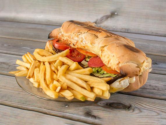 Sándwich torpedo especial