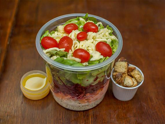 Salada de frango (238 kcal)