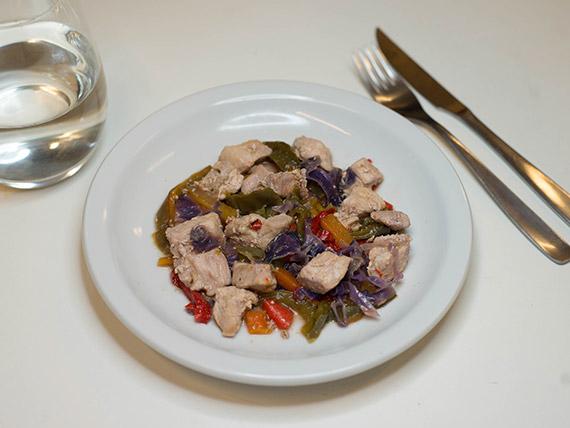 69 - Cerdo al wok