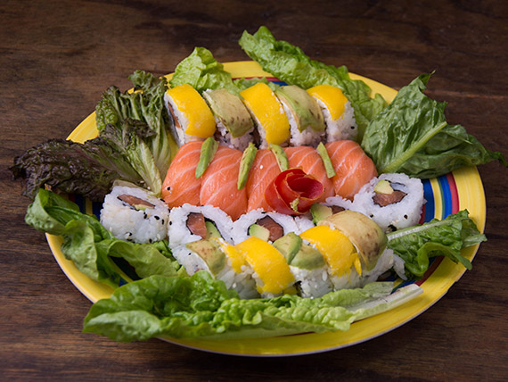 Ensalada full salmón