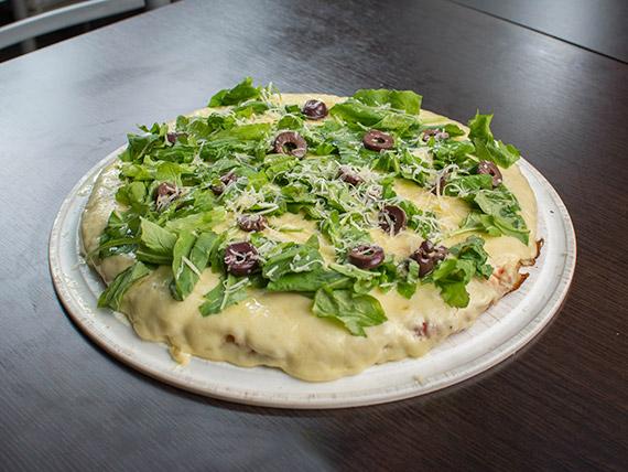 Pizza con rúcula (8 porciones)