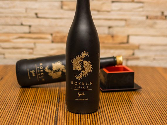 Promoção - Sake Rokkon Gold 745 ml