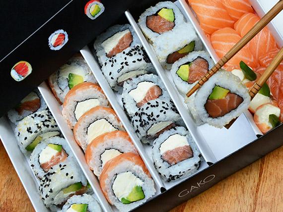 Combinado All salmón (30 piezas)