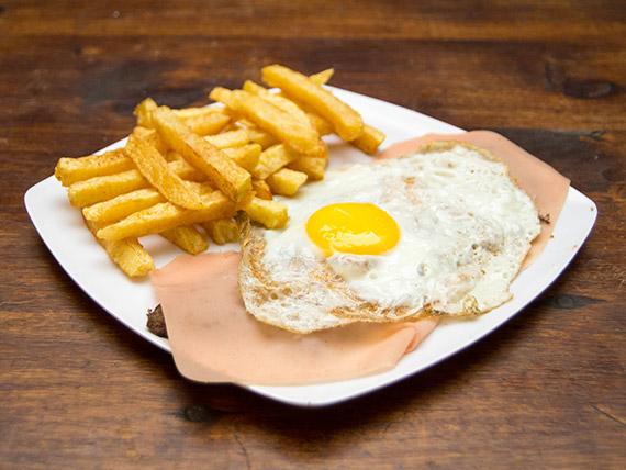 Lomo de carne o pollo al plato