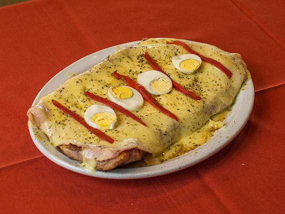 Matambrito de cerdo a la pizza / Pork flank pizza