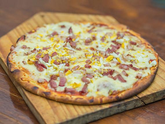 Pizza gringa al molde