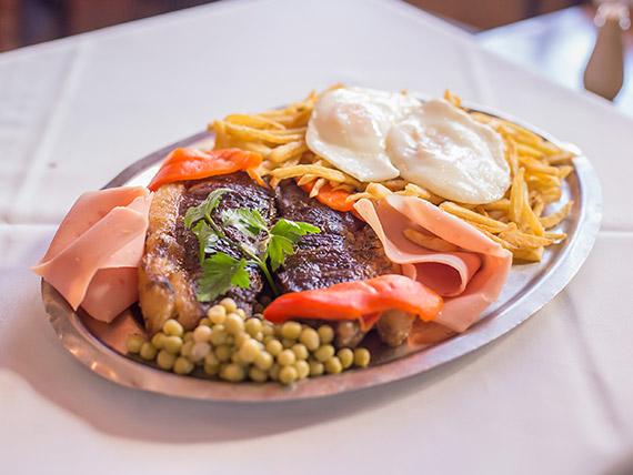 Gran bife de chorizo Gogy (comen dos)