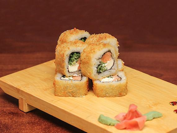 26 - Sake tempura roll (8 bocados)