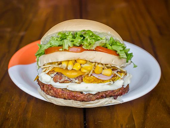 09 - Sanduíche picanha burger