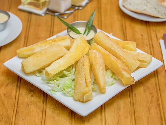 Yucas fritas