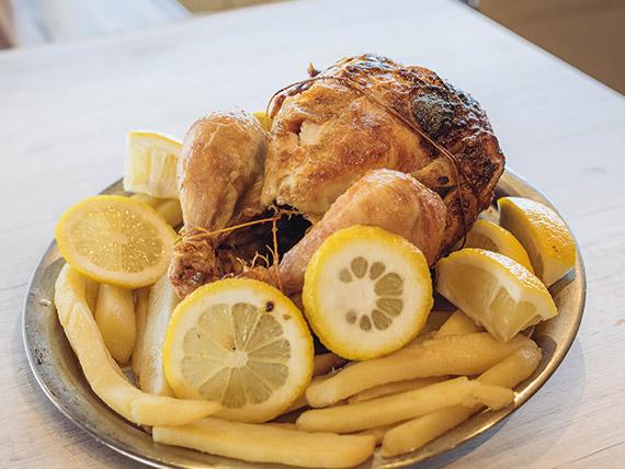Promo - Pollo con guarnición