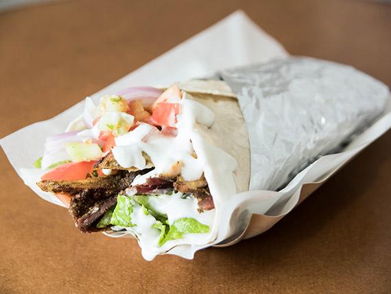 Shawarma tortilla mixta