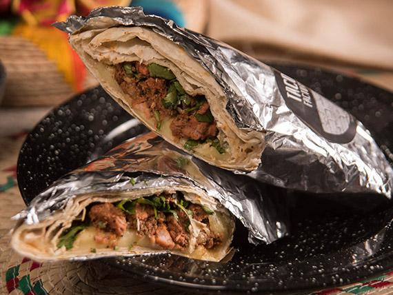 Burrito súper cerdo