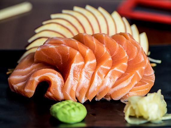 Sashimi salmão (7 unidades)