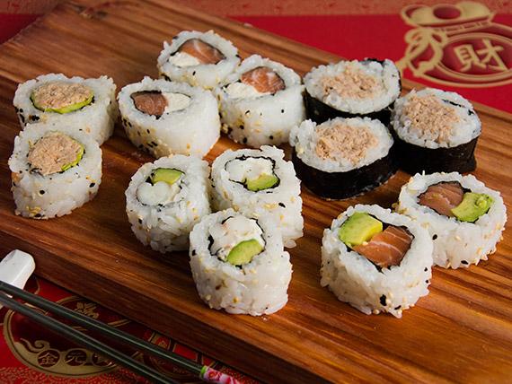 Combinado Nº 3 - Maki rolls (20 piezas)