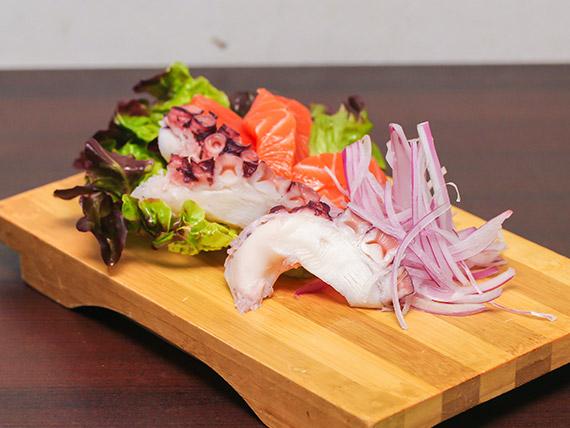 Sashimi mixto (10 piezas)