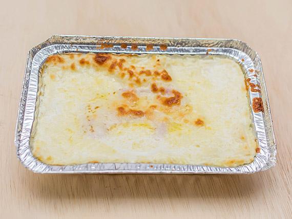 Lasanha aos quatro queijos (individual)