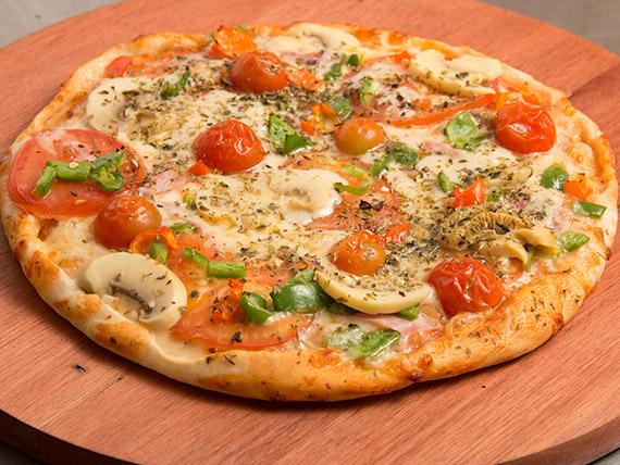 Pizza portuguesa média