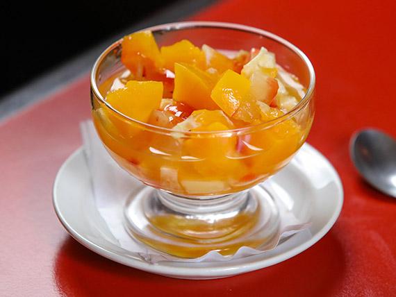 Ensalada de frutas de estación