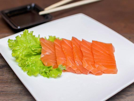 Sashimi salmão tradicional (2 peças)