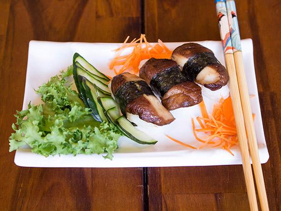 Niguiri sushi shitake