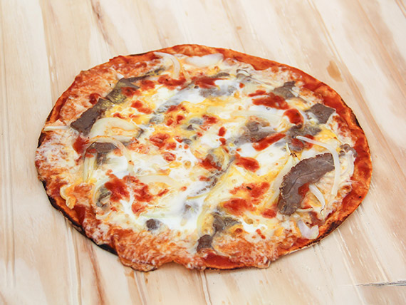 Pizza mediana maldita gula