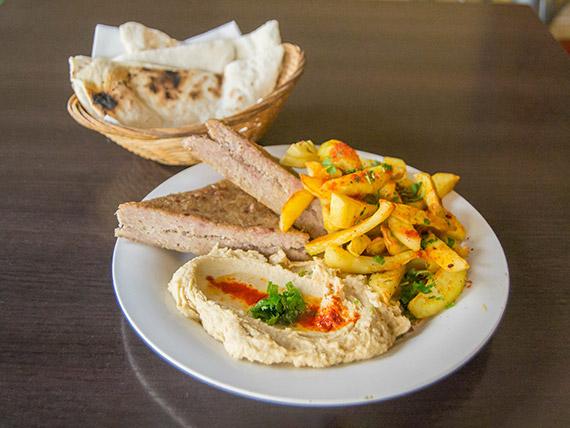 Promo 1 - Keppe + humus + papas harra