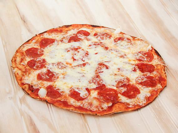 Pizza mediana maldito gringo