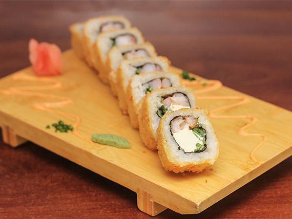 25 - Tempura roll (8 bocados)