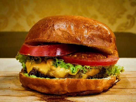 Hambúrguer salada