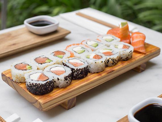 Combinada All salmón (15 piezas)