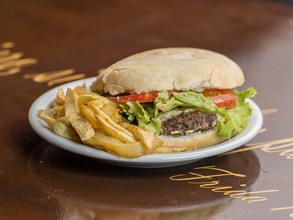 Kebab burger (sin papas)