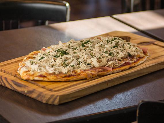 9 - Pizza con pollo a la crema
