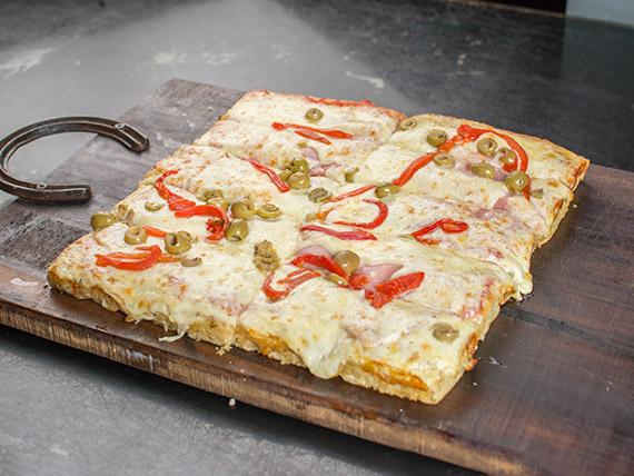 Pizza especial primavera (10 porciones)