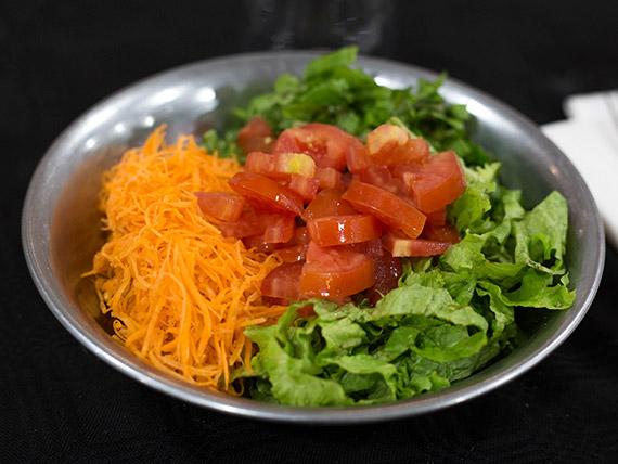 Ensalada de verduras crudas (100 gr)