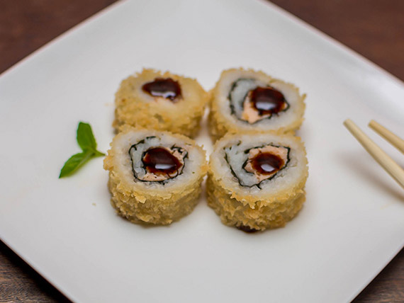 Hot salmão grelhado (2 peças)