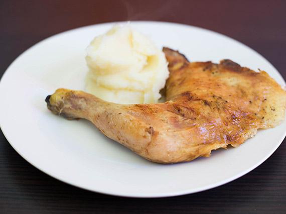 1/4 pollo