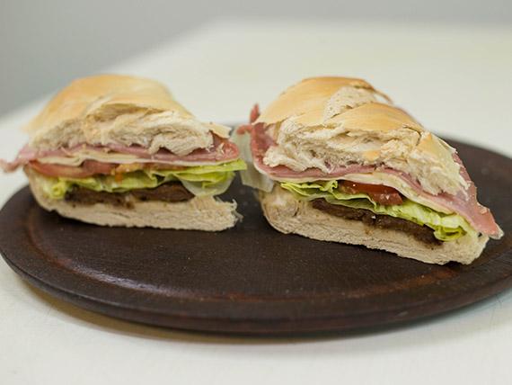 Sandwiche de milanesa