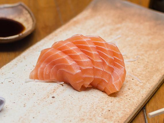 Sashimi sake (5 fatias)