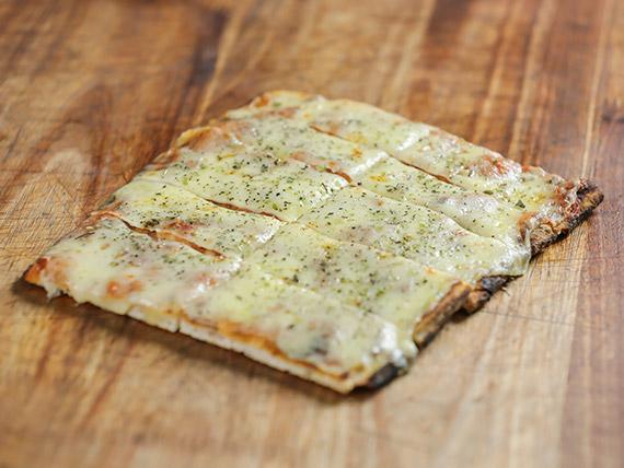 Pizza muzarella (porción)