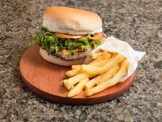 Hambúrguer carne