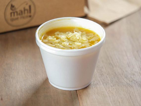 Sopa de calabacín en vaso térmico 300 ml