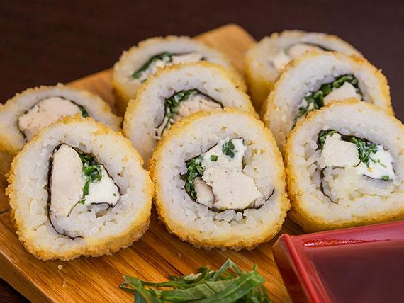 Panko teriyaki roll (8 cortes)