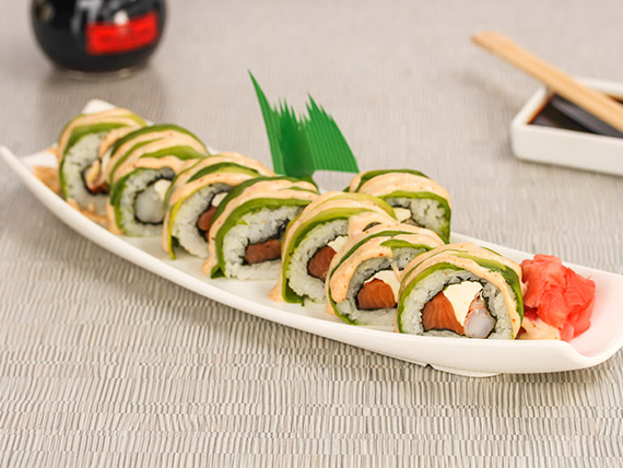 Ebi maki cheese